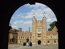 Eton College - School Yard and Lupton's Tower